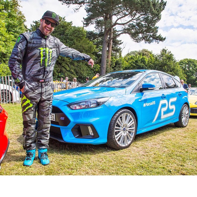 Took the all-new AWD Ford Focus RS up the hill at @FOSGoodwood twice today. This is the first time I've driven this car in a public setting (all previous driving has been done on test tracks) I have to say, even though there is still some final...