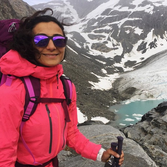 It's weekend time! Great shot from adventuring around the Wedgemount Glacier #LiveLifeOutside
