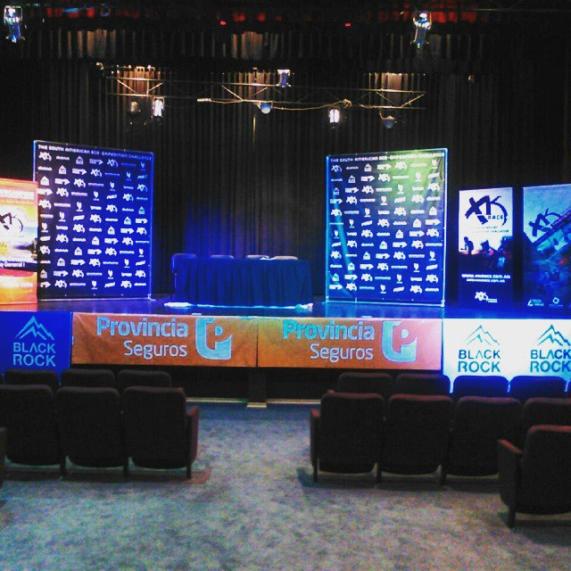 Todo listo para la charla tecnica de una nueva edicion de XKRace - La Pampa @xkrace @blackrocksport