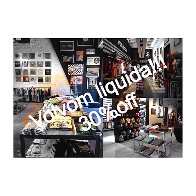 Volcom Líquida!!! 30%off en todos nuestros locales!!! #VolcomAltoPalermo #VolcomDot #VolcomUnicenter #VolcomSoho #sale #ss14