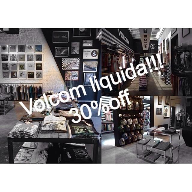 Súper sale! Liquidamos 30% en todos nuestros stores!! #volcomAltoPalermo #VolcomUnicenter #VolcomDot #VolcomSoho #sale #ss14 #30%