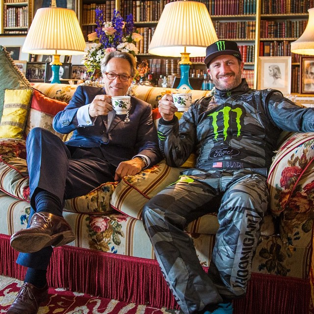 Lord March invited me over for afternoon tea in his house yesterday. How could I say no? He's the reason @FOSGoodwood exists! He's also a genuinely cool guy who has a huge passion for cars and racing. It was great to take a break from my hectic day to...