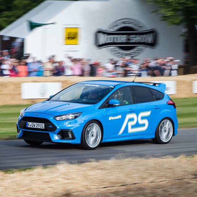 I'm very stoked to be putting miles on this brand new 2016 Ford Focus RS here at @FOSGoodwood. 345hp + AWD = FUN. Can't wait to keep pushing the limits on this thing and learning what it's capable of. #FOS #FocusRS @fordperformance