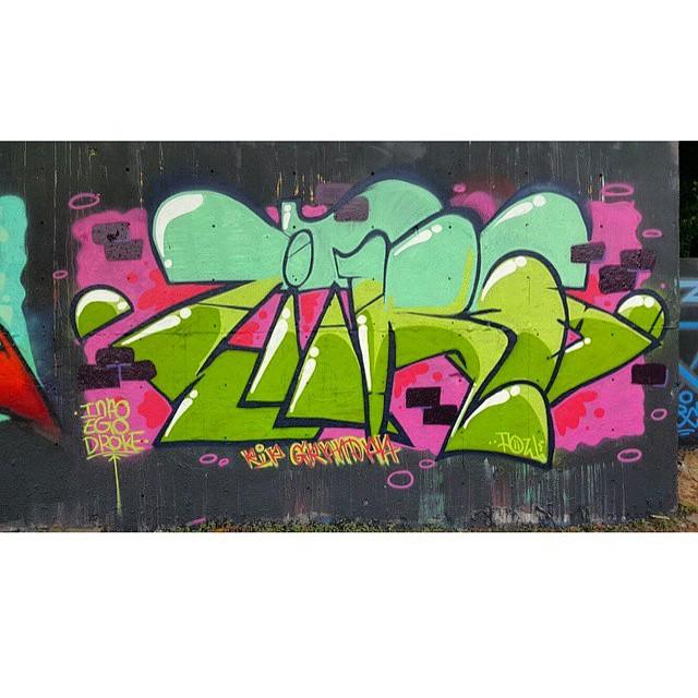 @zitro.pow • • #atx #austintx #texas #tx #zitro #spratx #graffiti #grafite #graff