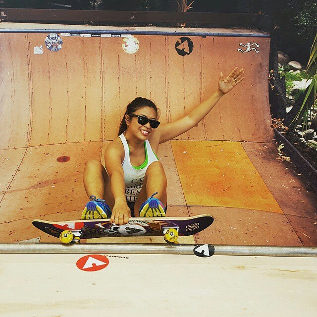 Shades on, skate on. #makeyourmark #sunglassesday #regram @blkirish21