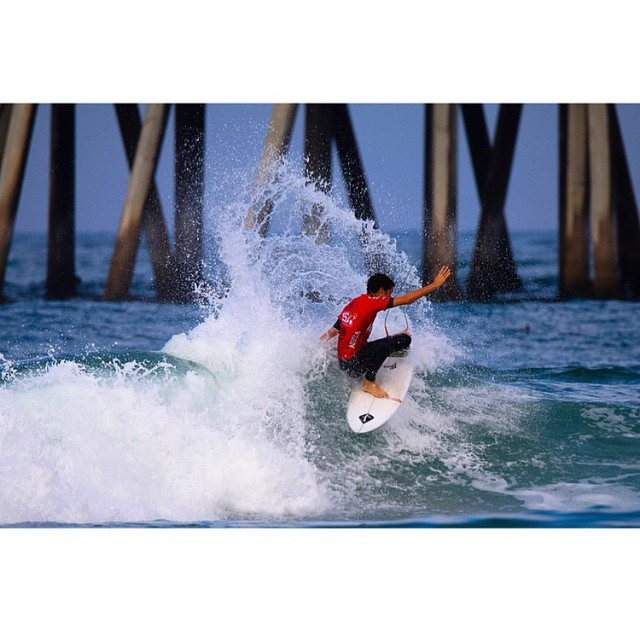 @danemackie kicking off the @nssasurf Nationals in HB this morning.