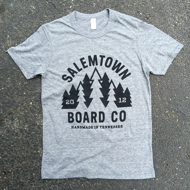 New shirts coming this week. #Nashville #SalemtownBoardCo