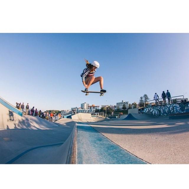 Clear skies = Skate ☀️