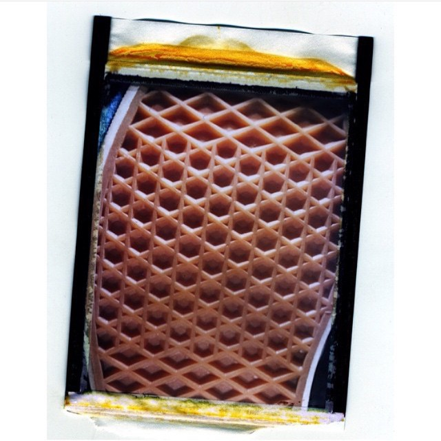 Waffle polaroid ☝