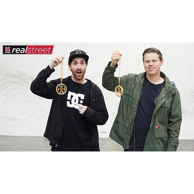 The 2015 #RealStreet gold medalists are @mikemo and @chrisrayfilms!  Click the link on our profile page to peep their winning edit.