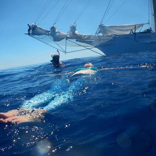 Find your bliss wherever you are... @5gyres on a fantastic voyage studying & sharing solutions to remove plastic from our oceans.  When you purchase _okiino_ you choose the non-profit you want to support.  5gyres is one of the options - here...