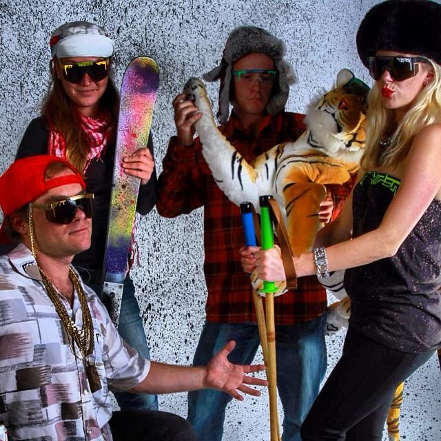 Pit Viper/Panda Poles #partymountain  #pandapoles #magicskiwands #pandatribe #pitviperlifestyle  @buckmanford @pit_viper