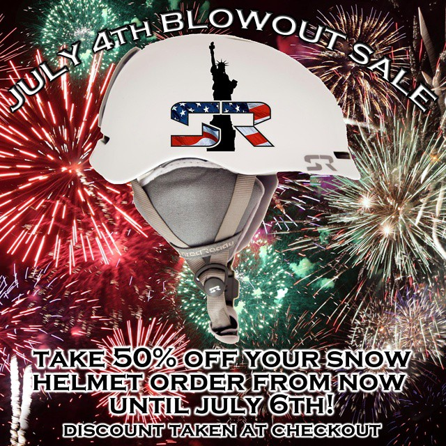Thinking about a new snow helmet for next season?  Take advantage of our July 4th blow out sale on all snow helmets!  Follow the link in our profile. Limited availability.  #winter #july #cuzrockshurt