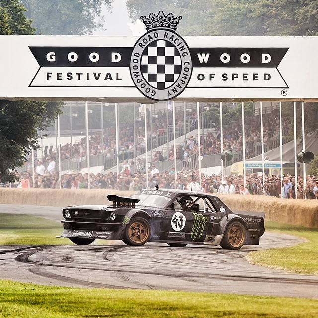 "Last day at @FOSGoodwood for me today.  I was originally told ""no more donuts""... But that's why I'm here! #Hoonicorn #lordsblessing #sundaydonuts"