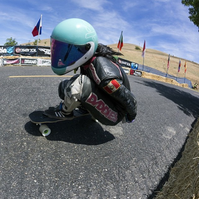 Repost from @daddiesboardshop  @cocomarii skating Maryhill shot by @mattkienzle. Today race day! @idfracing  #longboardgirlscrew #MaryhillFestivalOfSpeed #mfos #womensupportingwomen #skatelikeagirl #girlswhoshred #marisanuñez #idfracing
