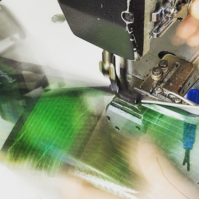 Sewing is music made by the momentum of mechanics and the poetic rhythm of the operator.