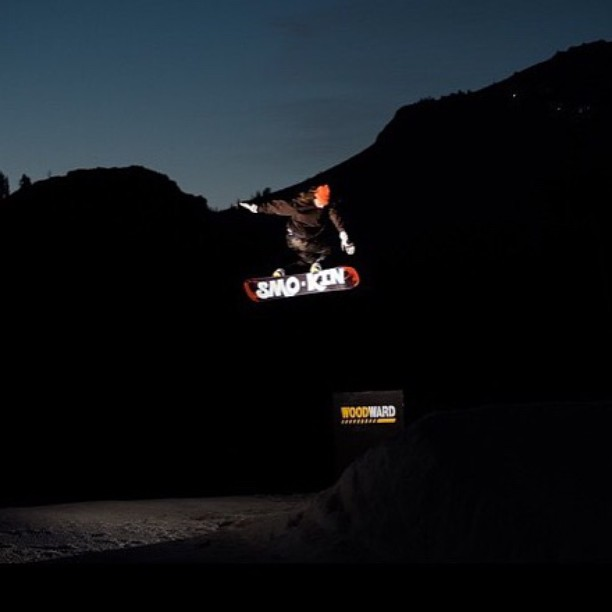 lighting is such a crucial aspect of all photos, it's great when the timing is on. here's a shot by @ReeceLMarshall took of @joeyleppien at the last @woodwardtahoe session. #BuckFerton #handmadeusa #forridersbyriders #weareOK