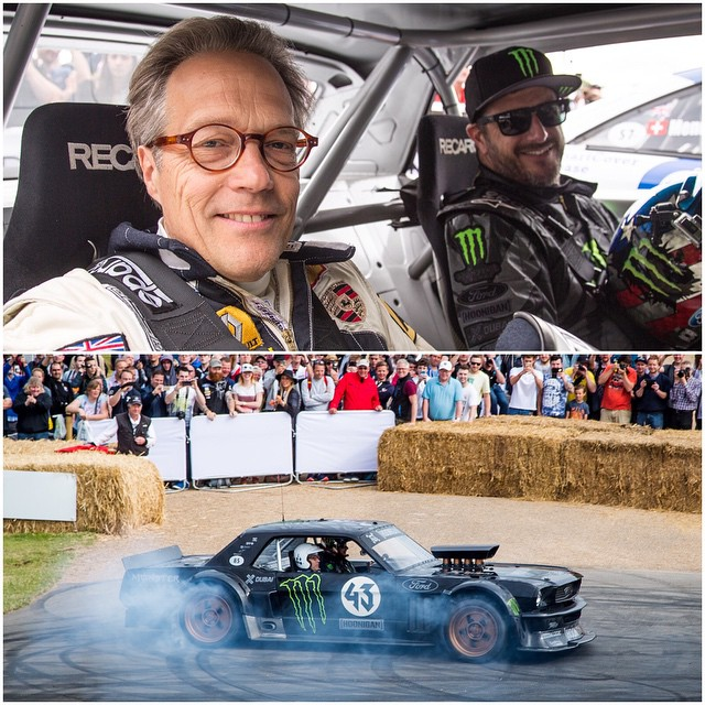 Took Lord March for a ride in front of his house today at @FOSGoodwood. He's such a rad dude - when he heard the Hoonicorn was here, he was adamant about getting a ride up the hill in it. Which is quite an honor, because apparently he very rarely (if...
