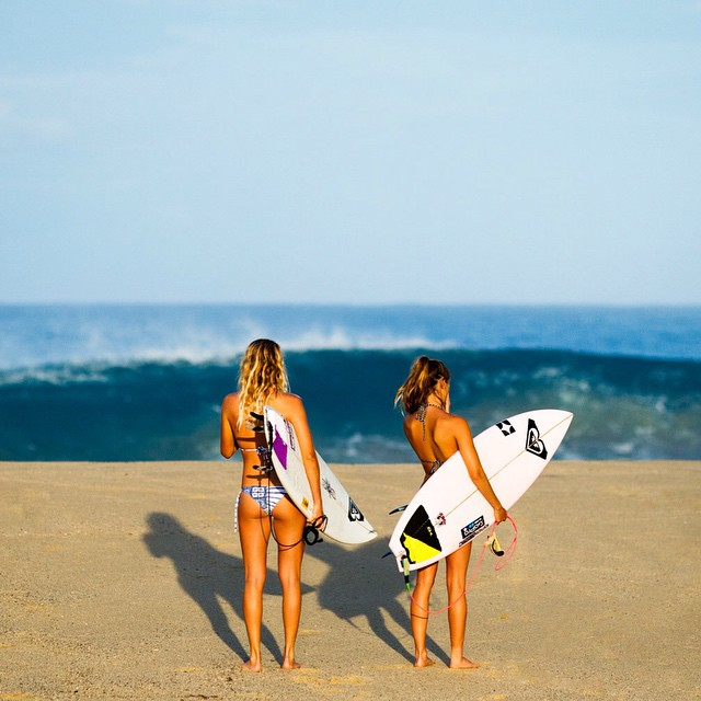 You come up with the caption and we'll pick our favorites! #ROXYready