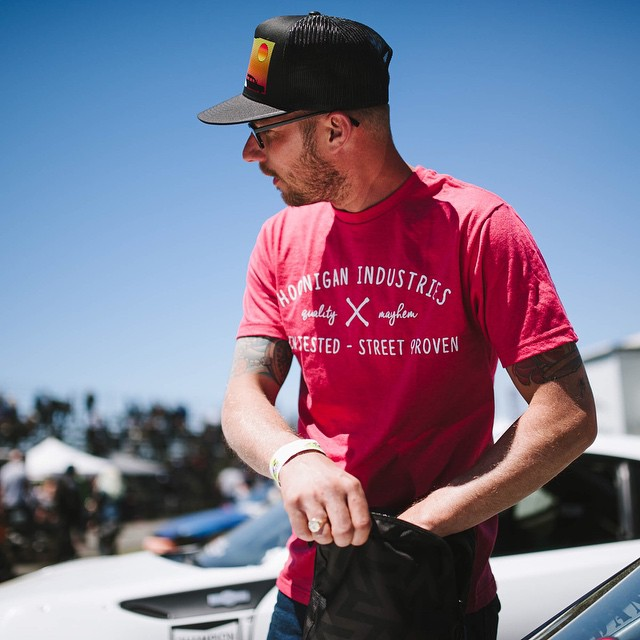 Our man (and now current @formulad points leader) @ryantuerck rocking the new Track Tested - Street Proven Tee. Find it and a bunch of other new sh!t on #hoonigandotcom. And if you are a part of the #hngnloyaltysquad, be sure to take advantage of the...