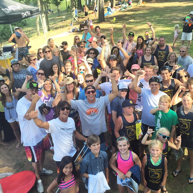 Another big, stoked, #liquidforcetana crowd in NC!  Thx once again to everyone that came out to join in the fun today!  @liquidforcetana @harleyclifford @_benwatts @stephenpiercewake @afwake
