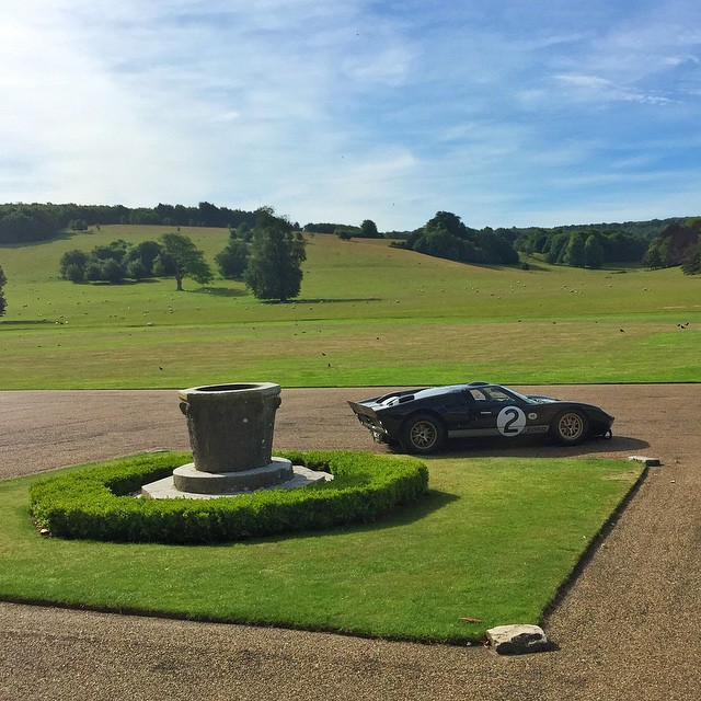Final view this morning from the hotel in the English countryside that @Ford put me up in this past week for the Goodwood Festival of Speed. Now it's time for me to fly home (for two days) - it's been a great but very long four weeks on the road....
