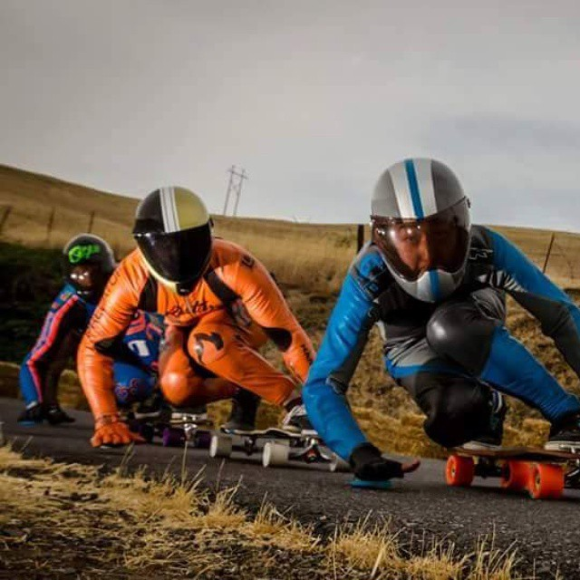 @niko_dh sandwich between B-Choi and @patrickswitzer in cowsers. #restlessboards #restlessnkd PC: #ReyPerkins