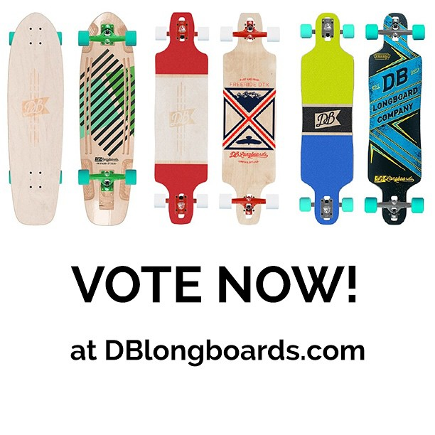 Thank you to everyone who entered our custom longboard design contest! We narrowed down our custom longboard entries to three longboards from: @joey.deboer @megan_liliane_ and @kirkbarney01  The longboard with the most votes by noon Wednesday wins a...