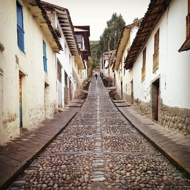 #Perú #Cuzco y sus #calles empinadas