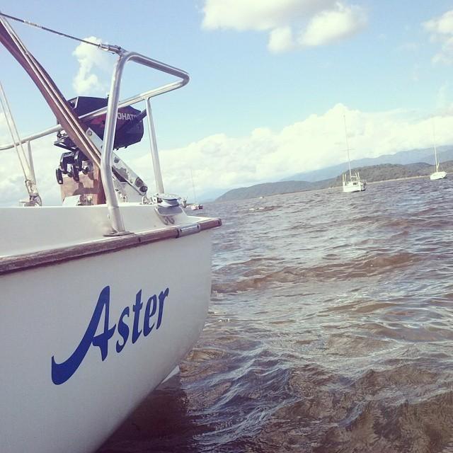 El #Aster navegando en el #CabraCorral #Salta