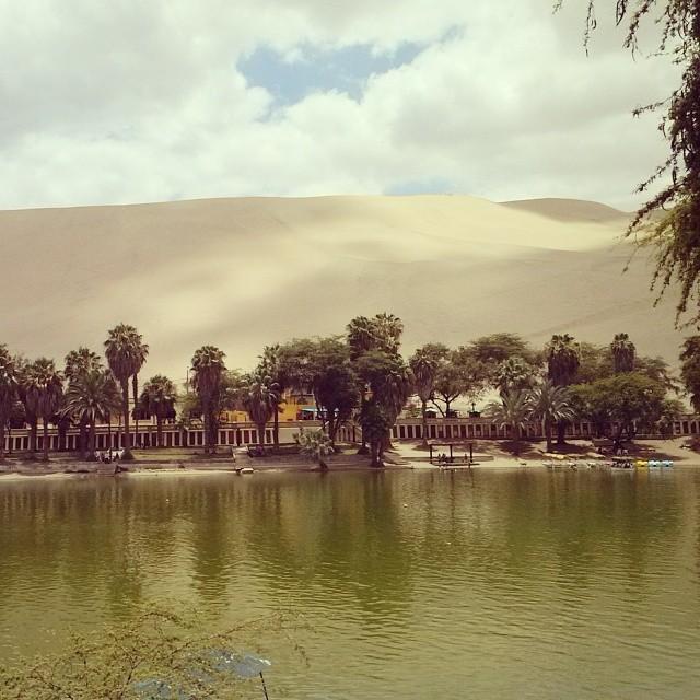 #Huacachina #Peru #Oasis