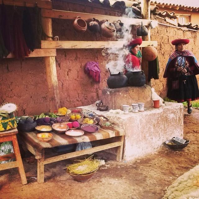 #Peru #Chinchero colores en lanas