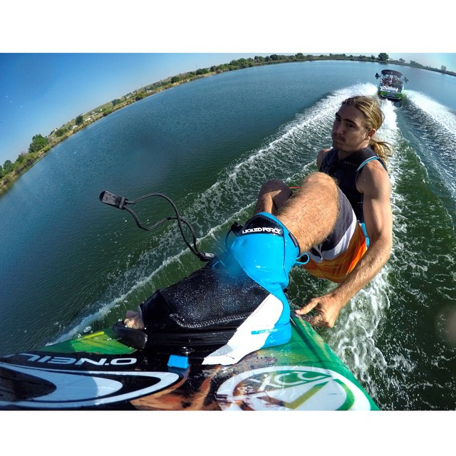 @collinharrington hitting the road (and wake) for @liquidforcetana this weekend!  #LiquidForceTANA @gopro #gopro