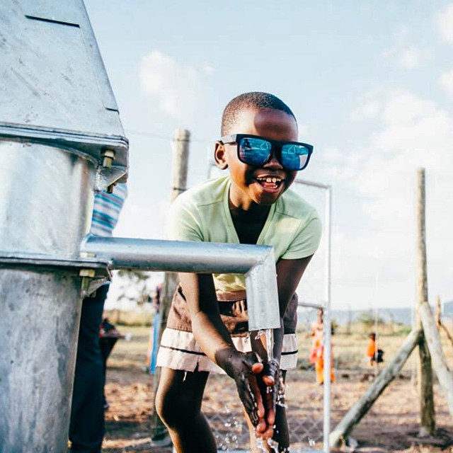 #GiveWater, #SeeHappy.  Purchase any sunglass from www.spyoptic.com through 6/30 and we'll happily donate $20 per pair toward @thirstproject's global water projects and education programs.