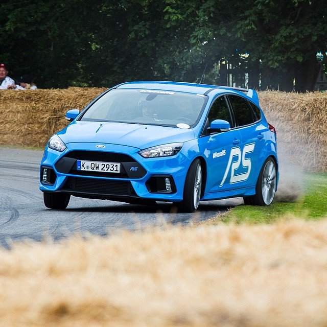 Nice shot from my last run in the 2016 Ford Focus RS at @FOSGoodwood yesterday. You could say I'm getting more comfortable with it! Ha. #edgeclipper #sorrynotsorry #landscaping #FOS #FocusRS