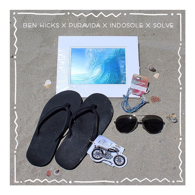 "Here's a chance to bag some goodies! Enter the ""Giveaway That Gives."" Up for grabs: - Limited edition Indo Wave print by Ben Hicks - 1% for the planet bracelet pack by Pura Vida - Innertube sandals (Women's) by Indosole - Mizu sunglasses by..."