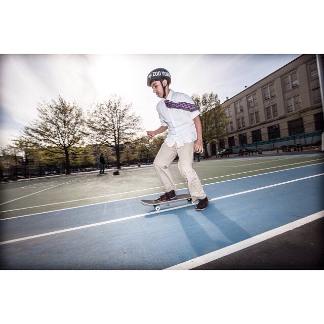 There's more to you than meets the eye. #skate #skater #skateboard #skateboarding #zooyork #sk8 #streetskate #ride #grind #youth #mentor #volunteer #citylife #nyc #trynewthings #challengeyourself #skateeveryday #bereal #beyourself #inspire #achieve...