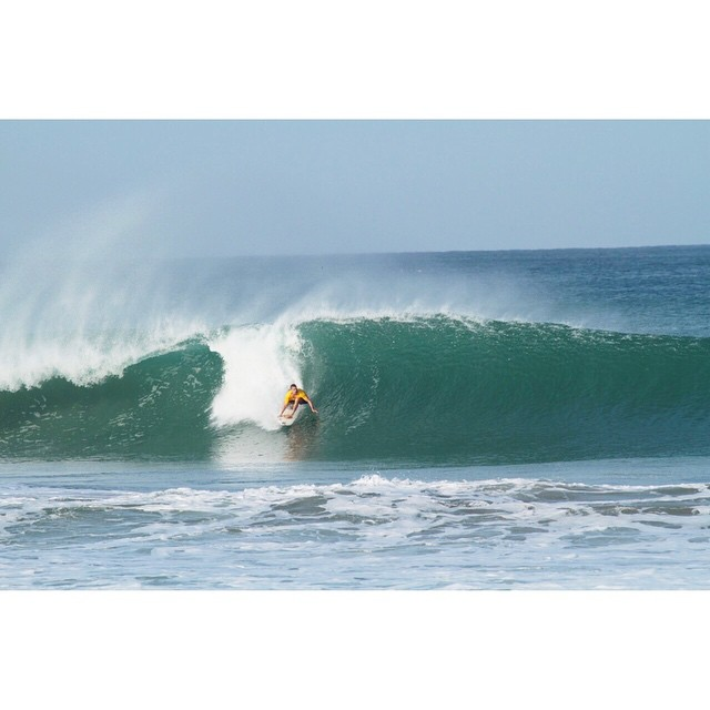 El swell por estos días en Puerto Escondido