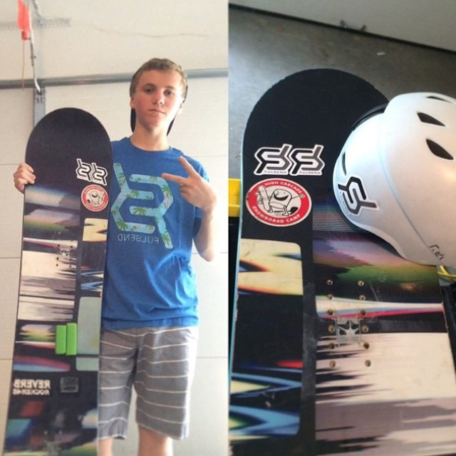 Stoked to have @cashz123 on the team! #slopestyle #snowboarding #boardercross #vermontopen #usasa