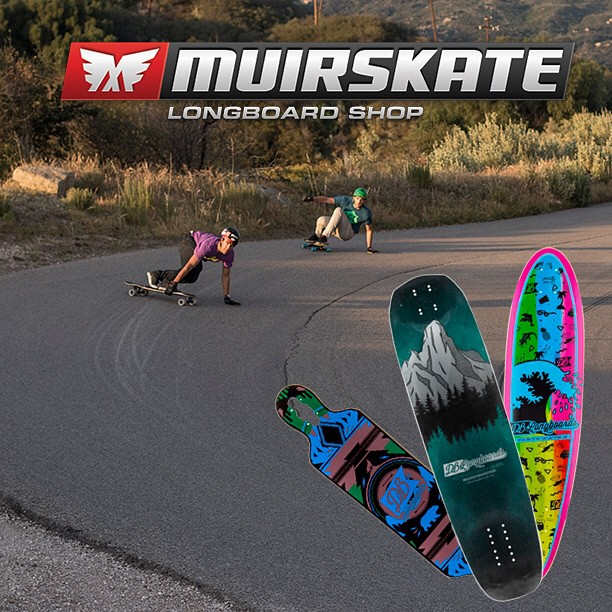 Our decks are now available at @muirskate! MuirSkate.com #longboard #longboarding #longboarder #dblongboards #goskate #shred #rad #stoked #skateboard #skateeveryday