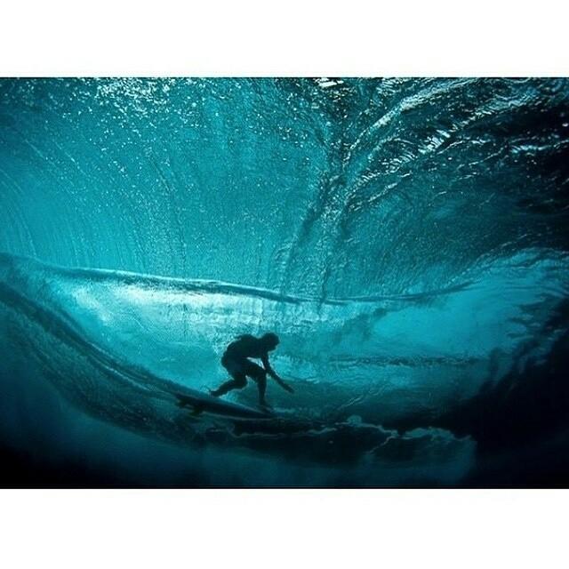 La vista de la ola
