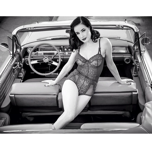 Check out the background feature from issue 35 featuring @ditavonteese shot by the talented @starforeman #issue35 #steezmagazine #ditavonteese #starforeman #classiccar #dita