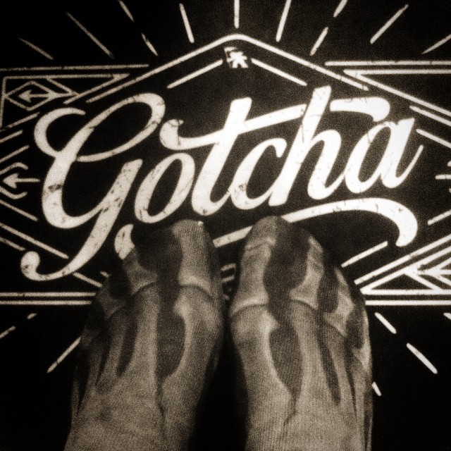 #Gotcha in Sox we Trust #socks #skulltoes