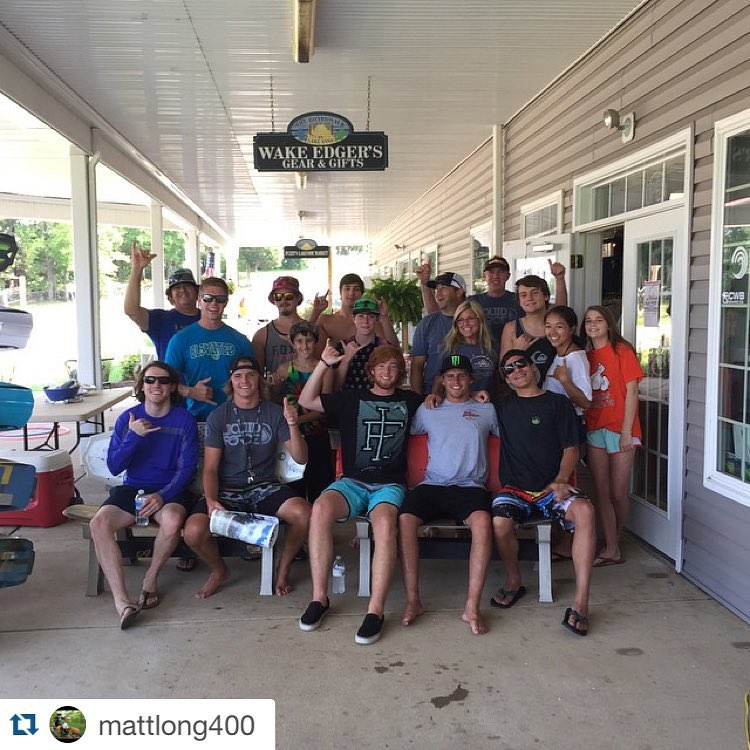 #Repost @mattlong400 ・・・ The crew @wakeedgersgear showed us a good time. @harleyclifford @_benwatts #thankyou