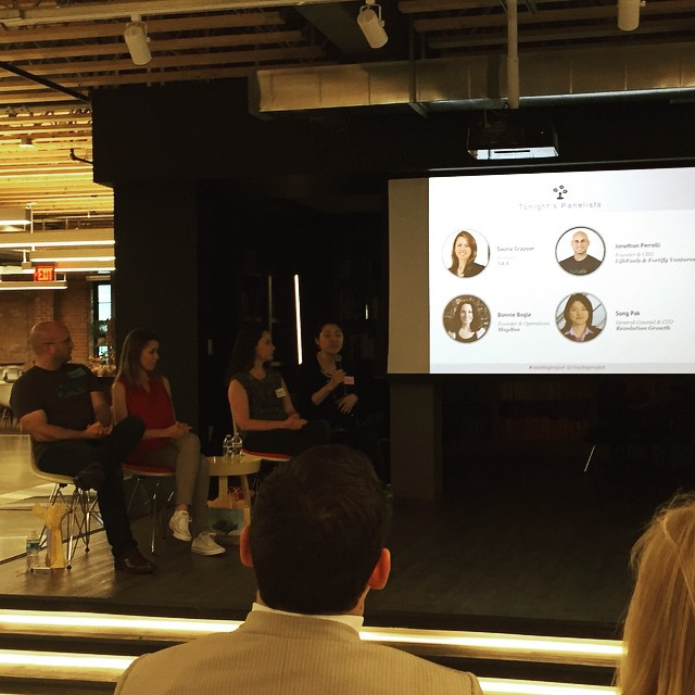 Great panel discuss at @vinettaproject #vinettaproject #lifefuels @NEAVC @revolution #womenintech #dctech