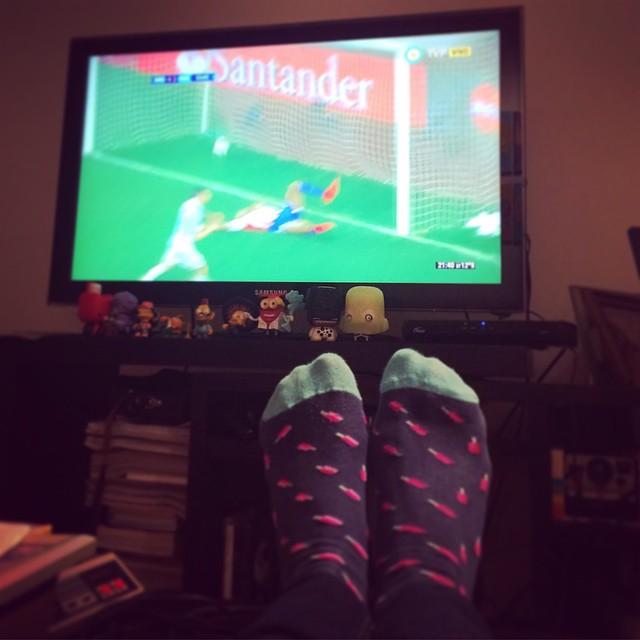 #Gol gol gol golllll #MediasConOnda #DiMaria #CopaAmerica #Style #socks