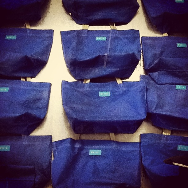 #blue series #sandbag !