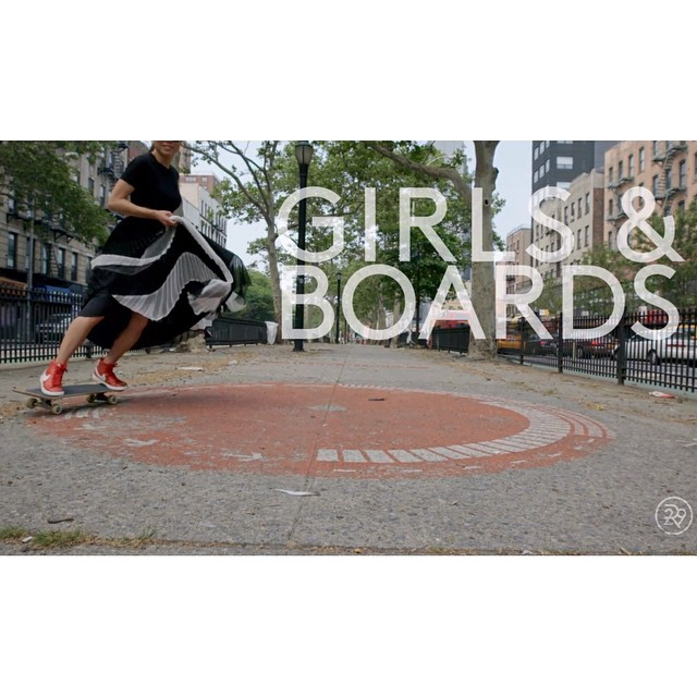 "Skater Girls talk about why they love boarding. Go to longboardgirlscrew.com and check this video out cause even though its a fashion ad, we can still relate to what these girls are saying. ""I think more girls probably don't skate cause think think..."