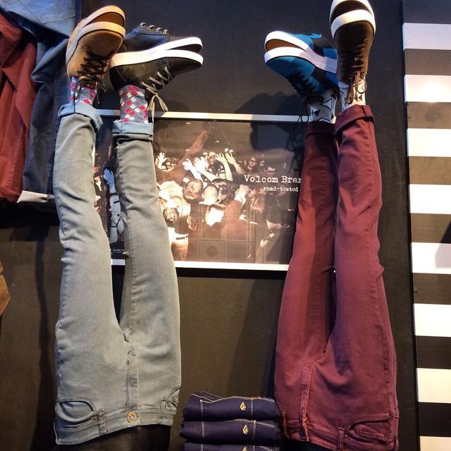 Volcom Brand Jeans: búscalos en #VolcomStore #Asw15 #RealLifeHappening #TrueToThis