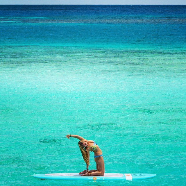 Make the world a better place with every action big & small | Repost from our inspiring friend @yoga_girl, There is a love inside your heart that is so deep, so vast, so profound... It could make the ocean jealous. This turquoise blue, sparkling ocean...